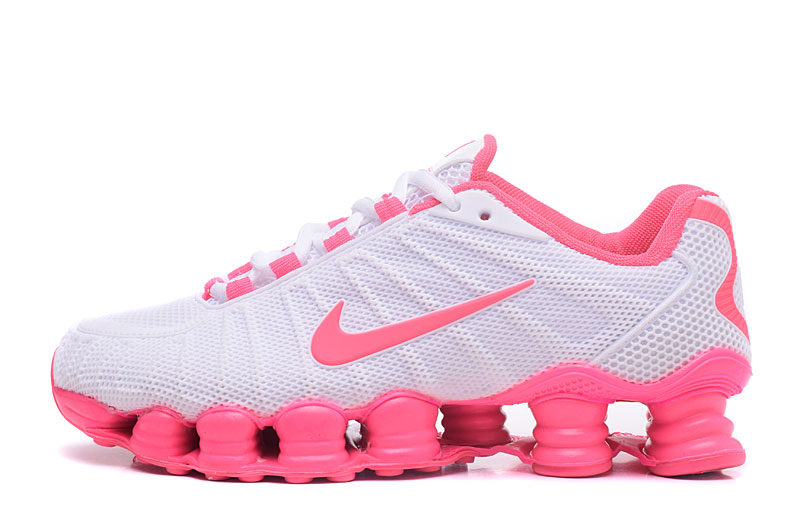 Nike Shox TlX H110 Women Shoes White Pink